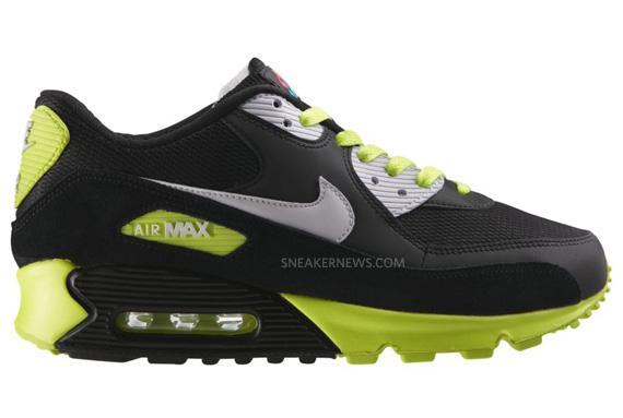 buty nike zielono czarne air max