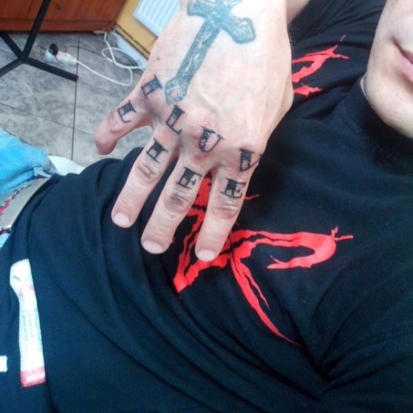 Tatuaż Soboty Na Ręce Glamrappl