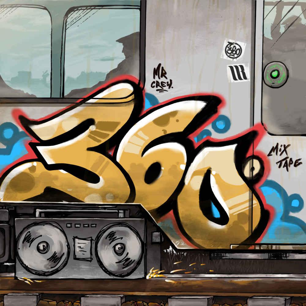 Rufuz 360 Mixtape okładka