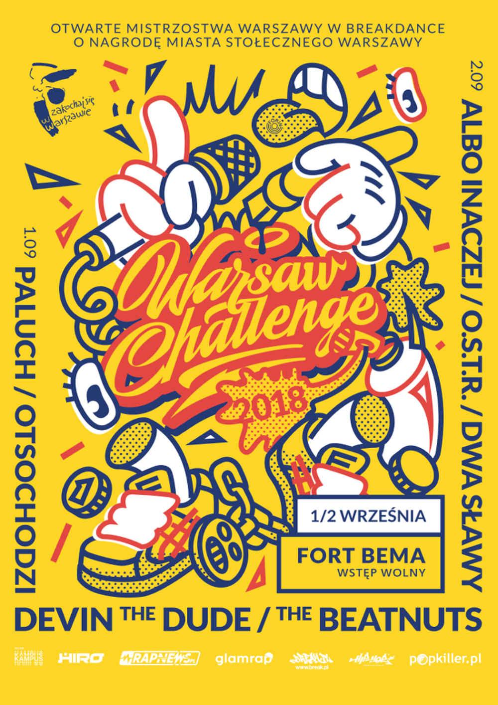 Warsaw Challenge 2018 plakat