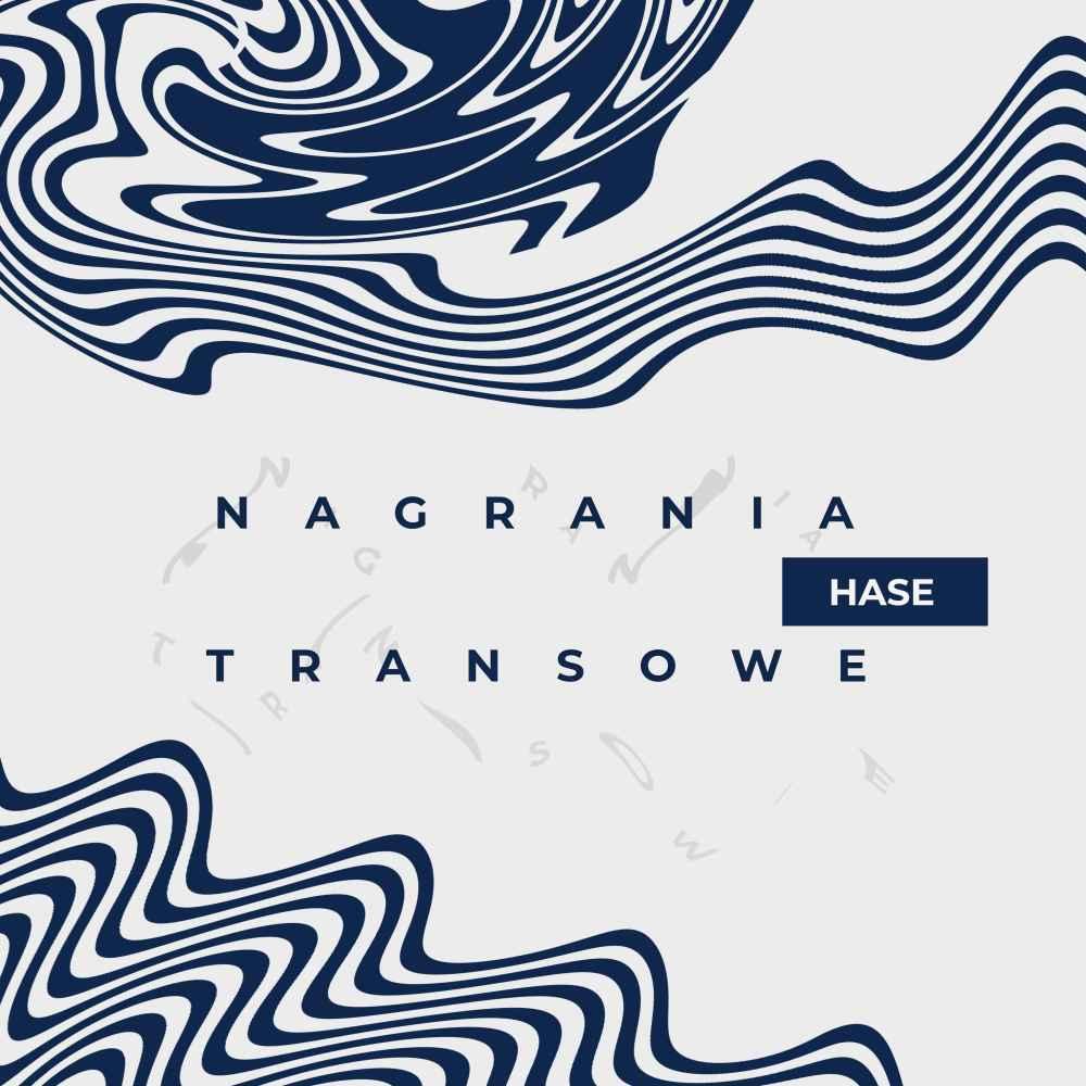 """Hase """"Nagrania transowe"""" okładka płyty"""