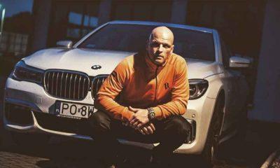 Paluch raper przy BMW
