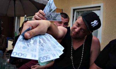 Tede i zgrywus hajs, pieniądze