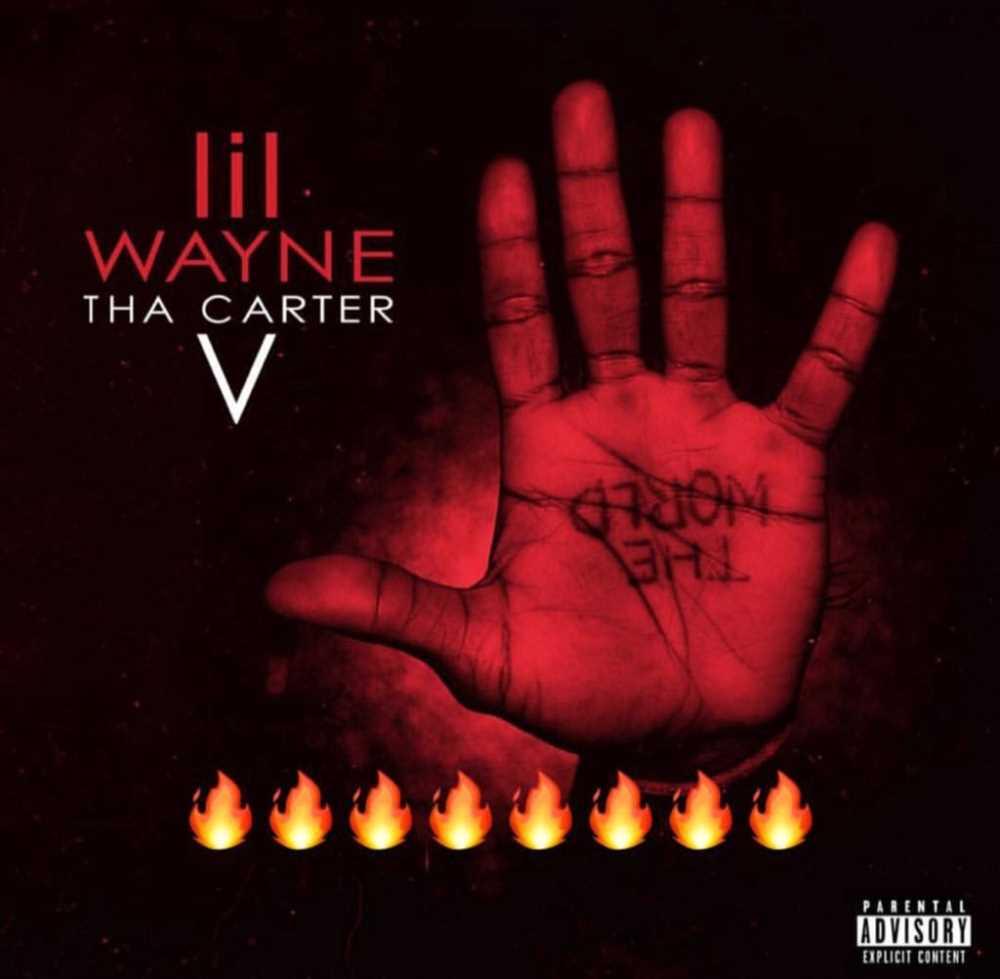 """Lil Wayne """"Tha Carter V"""" - okładka płyty"""