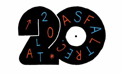 Logo 20 lat Asfalt Records