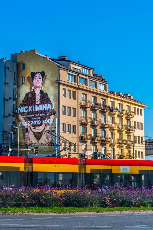 Nicki Minaj mural w Warszawie