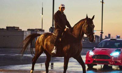 Sokoł na koniu