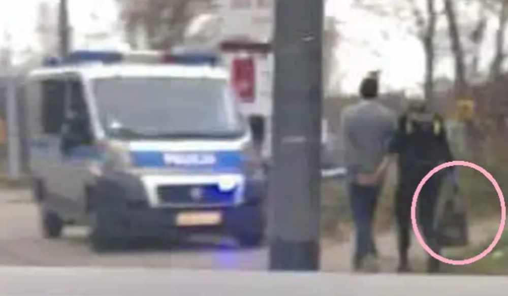 Belmondo policja aresztowany