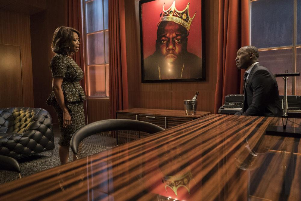 "Ogromny obraz z Notoriousem w serialu ""Luke Cage"""