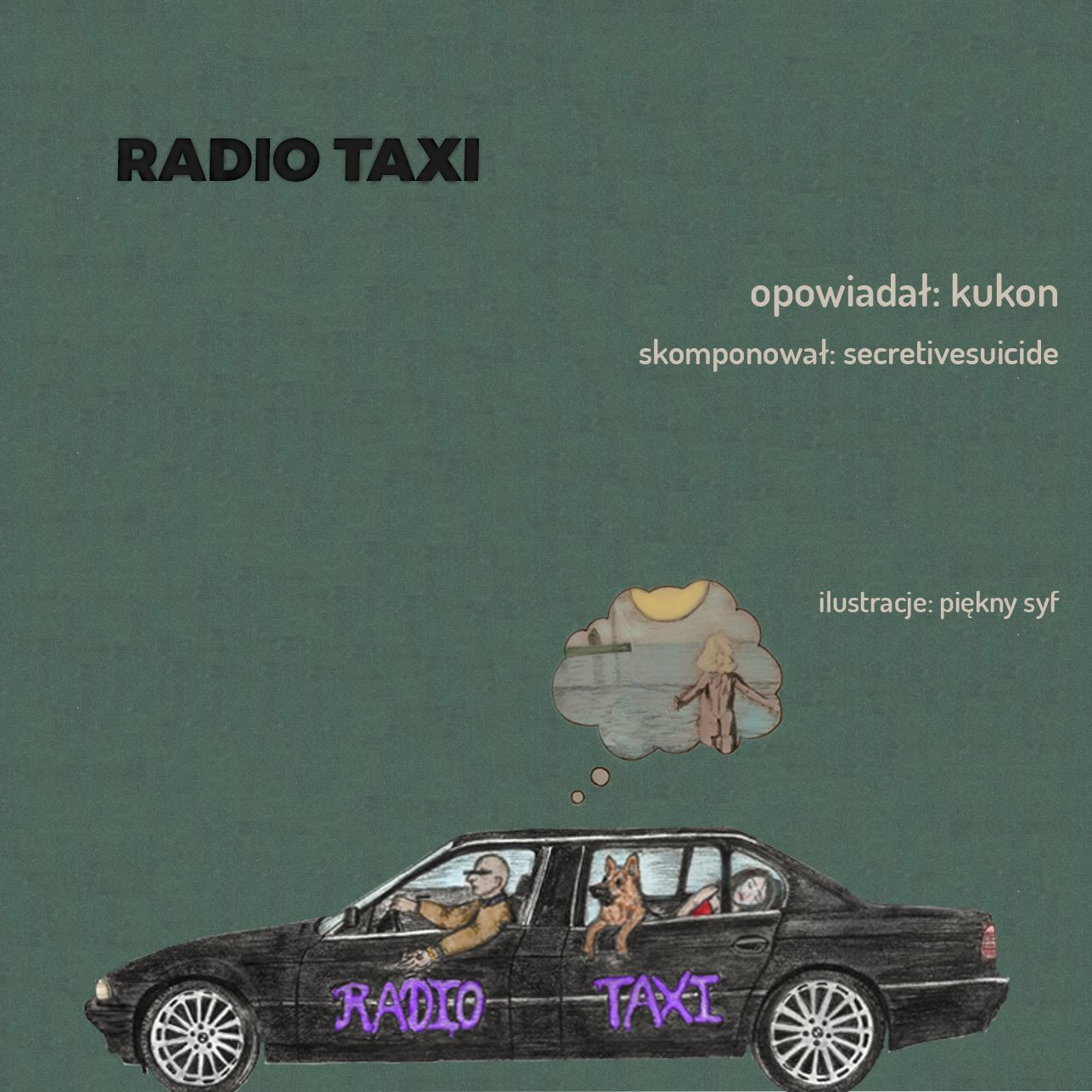 "okładka Kukon ""Radio Taxi"""