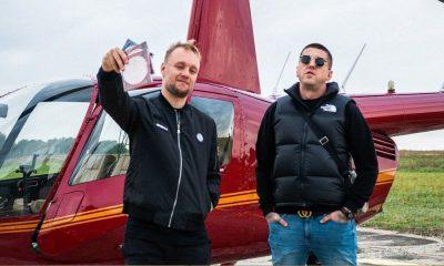 solar białas helikopter
