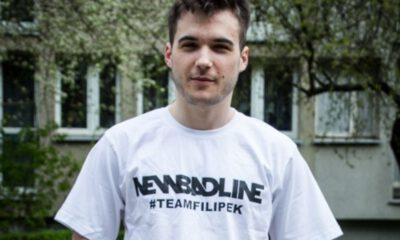 filipek w białej koszulce nbl