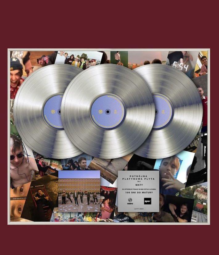 mata potrójna platynowa płyta
