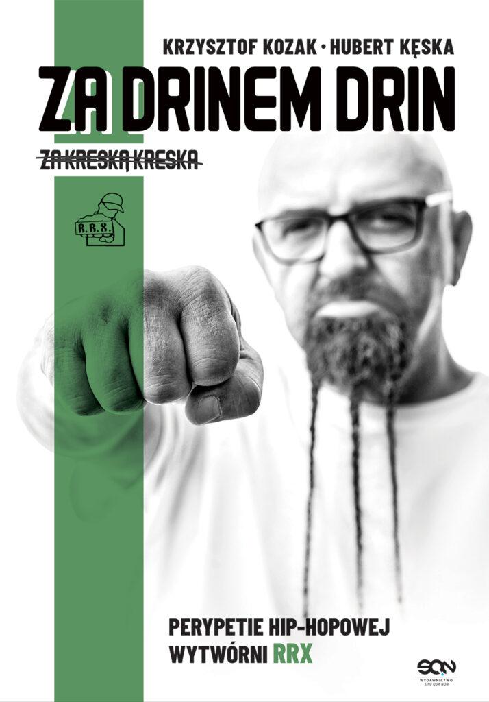 za drinem drin książka kozak okładka